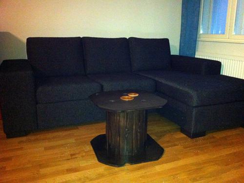 Kaapelikela sohvapöytä