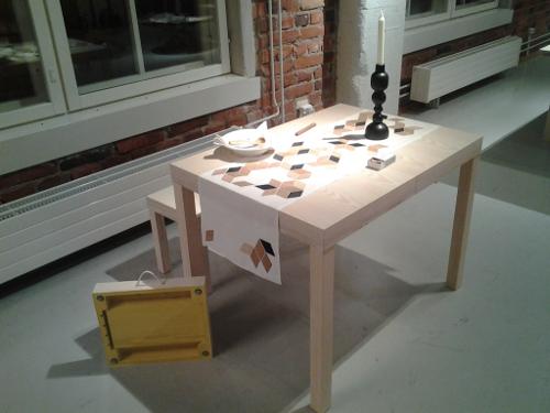 Laukkupöytä