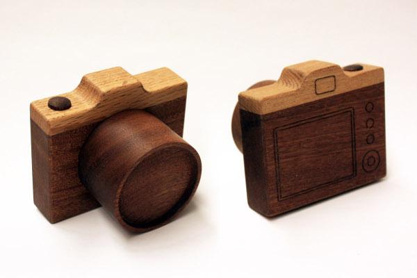 Puinen kamera