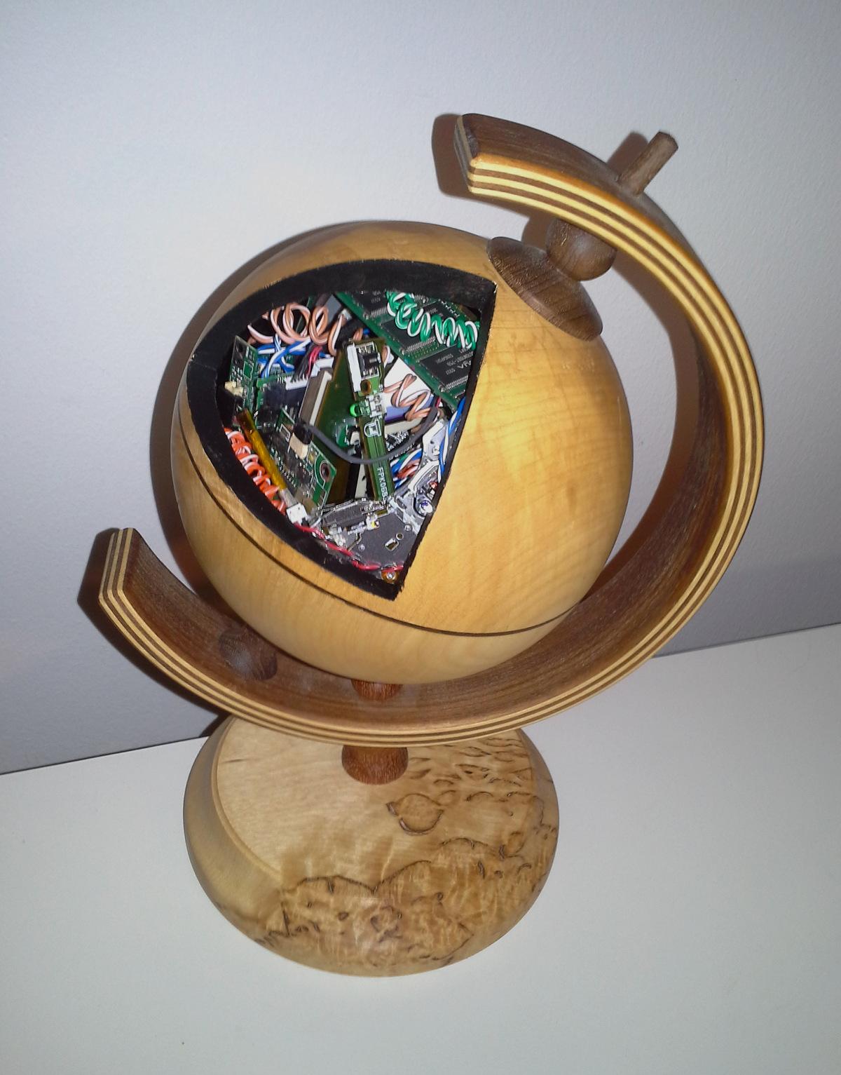 Globe by Tapio Kangasniemi