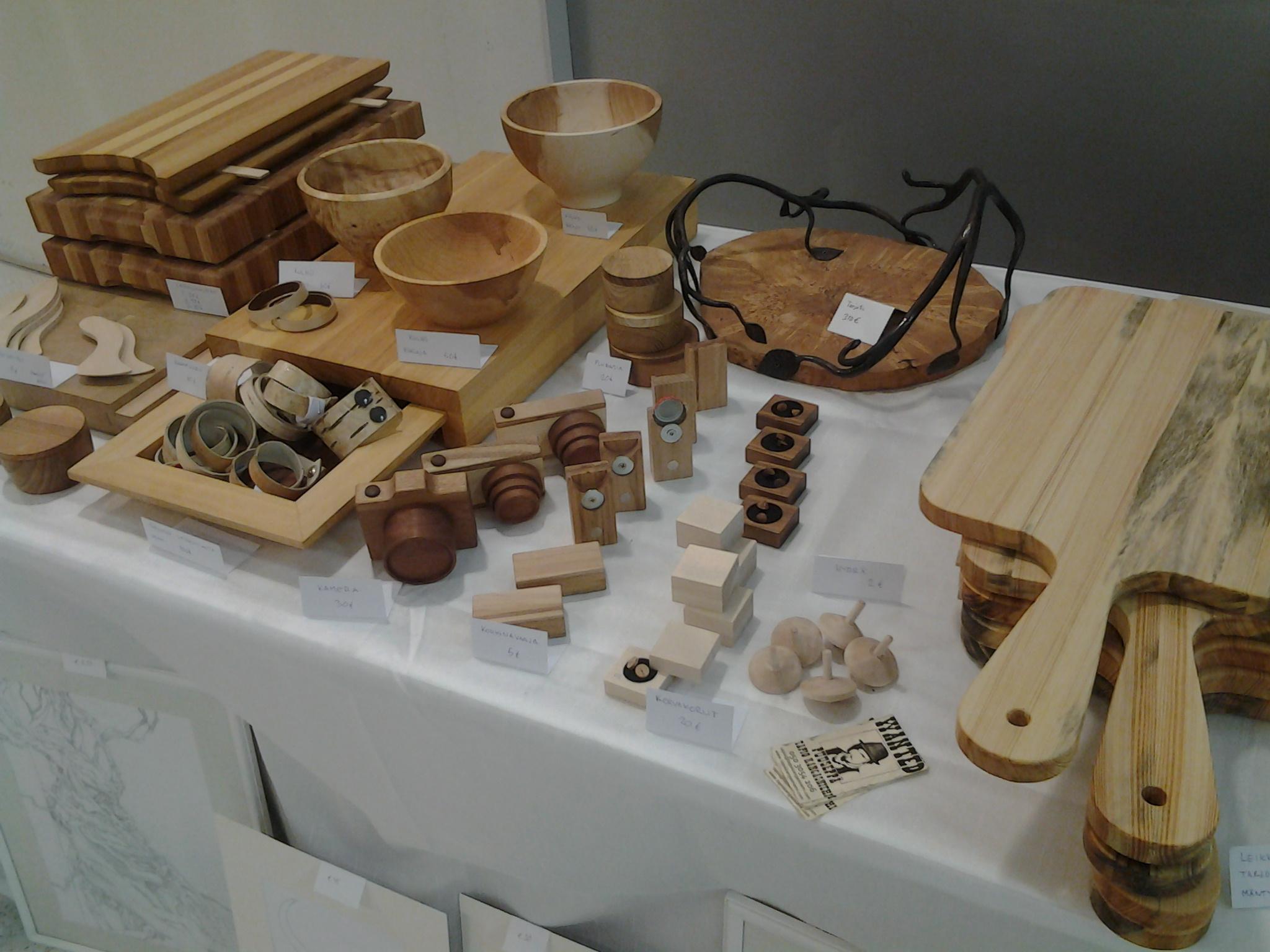 Myyntipöytä biomechanical 2014 näyttelyssä