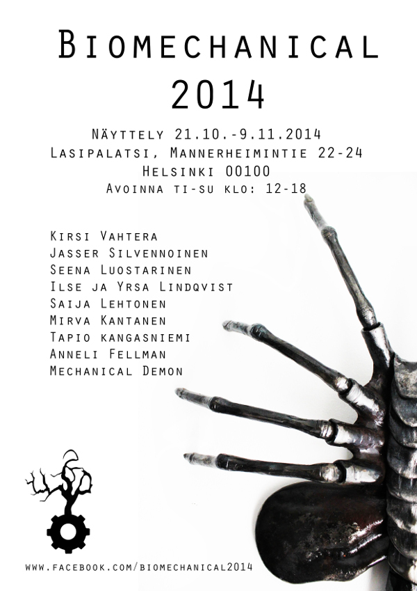 Biomechanical 2014 Lasipalatsissa